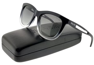 Ralph Lauren RA5205-144811 Women's Black Frame Grey Lens Sunglasses NW