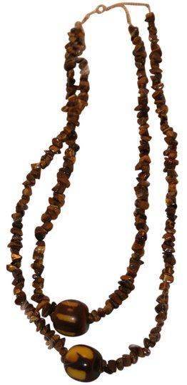 Preload https://item5.tradesy.com/images/brown-glass-bead-necklace-21294709-0-1.jpg?width=440&height=440