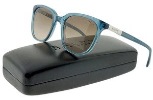 Ralph Lauren RA5206-15086G Women's Blue Frame Grey Lens Sunglasses NWT