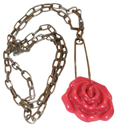 Preload https://img-static.tradesy.com/item/21294728/bronze-antiqued-rose-necklace-0-1-540-540.jpg