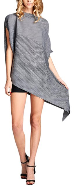 Preload https://img-static.tradesy.com/item/21294764/gray-unbalanced-tunic-size-os-one-size-0-1-650-650.jpg