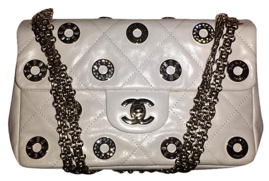 Chanel Cc Logo Eyelet Coin Lucky Shoulder Bag
