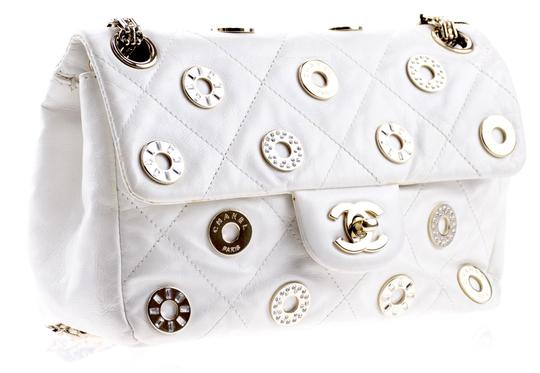Chanel Cc Logo Eyelet Coin Lucky Charms Shoulder Bag