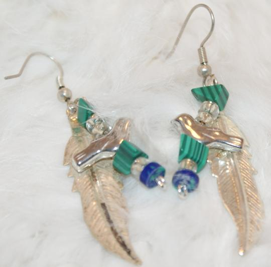 Other Handmade Silver Indian Wing/Turquoise Necklace Set