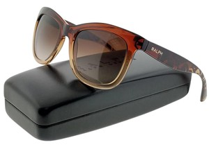 Ralph Lauren RA5210-151413 Women's Brown Frame Grey Lens Sunglasses NW