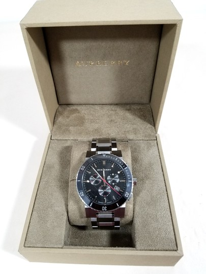 Burberry Burberry Black Dial Chronograph Stainless Steel Mens Watch BU9380