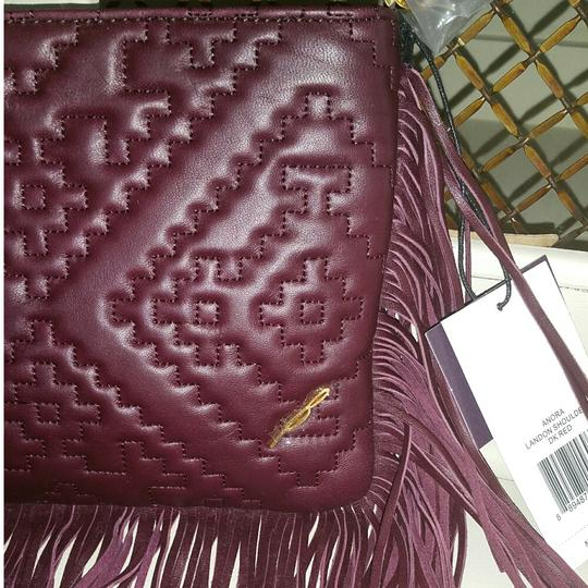 Brian Atwood Leather Purse Red Cross Body Bag