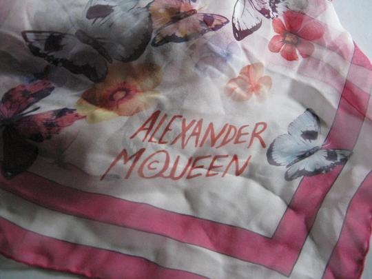 Alexander McQueen Old Rose Tiger Butterfly