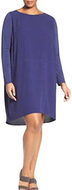 Preload https://img-static.tradesy.com/item/21295030/eileen-fisher-purple-silk-georgette-crepe-ballet-neck-shift-large-short-casual-dress-size-16-xl-plus-0-3-650-650.jpg