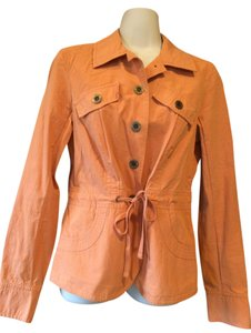 Axcess Denim Trench orange Jacket