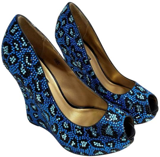 Preload https://img-static.tradesy.com/item/21295165/benjamin-adams-blue-cali-leopard-crystal-wedges-size-us-85-regular-m-b-0-2-540-540.jpg
