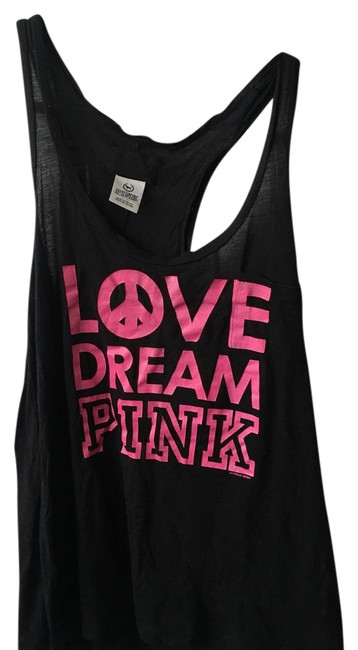 Preload https://item4.tradesy.com/images/pink-black-tank-topcami-size-12-l-21295193-0-1.jpg?width=400&height=650