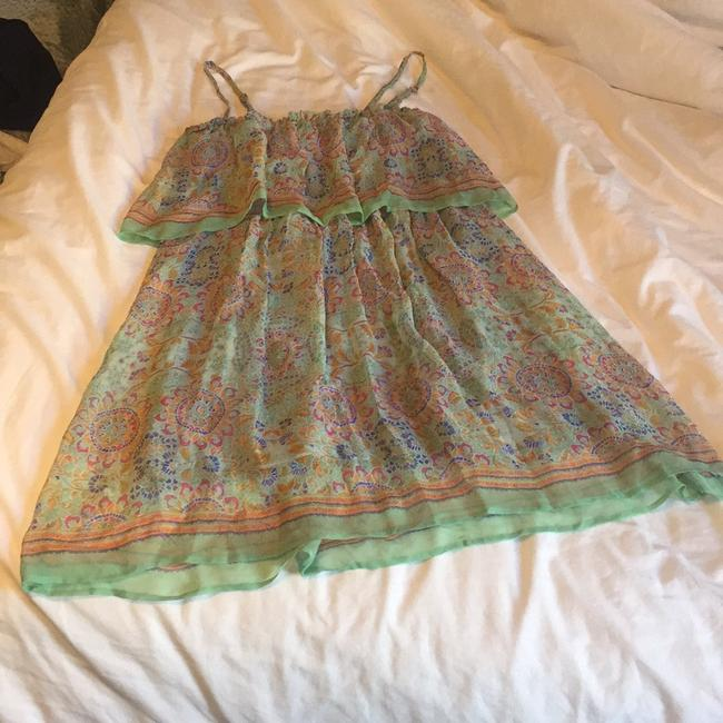 Ella Moss short dress light green, multi colored on Tradesy