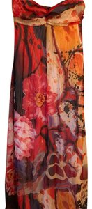 red multi colored Maxi Dress by Xhilaration