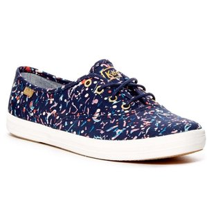 Keds Navy multi color Flats