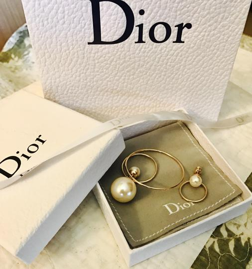 Dior Dior Mise en Tribal Gold Limited Ring earrings