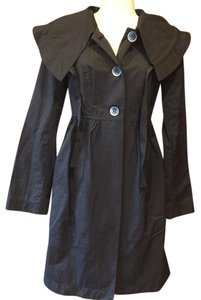 Daisy Fuentes Raincoat Night Trench Coat