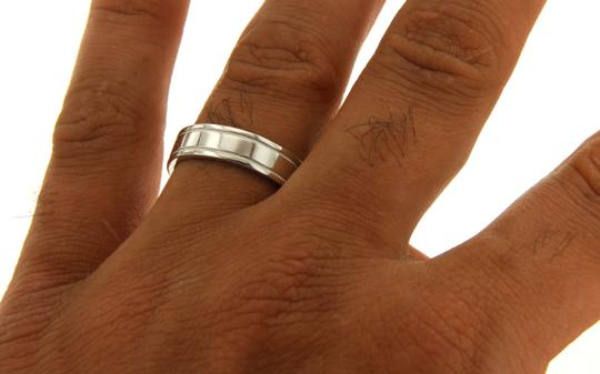 Tiffany & Co. Tiffany & Co 950 Platinum Wedding Band Ring Size 6.25