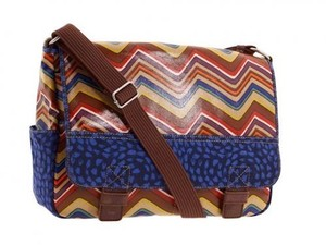 Fossil Messenger Crossbody Multi Color Messenger Bag