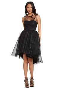 Donna Morgan Hi Lo Tulle Party Dress