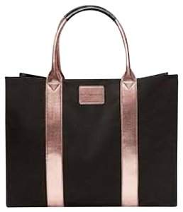 Victoria's Secret Weekender Large Tote in Black and Rose Gold