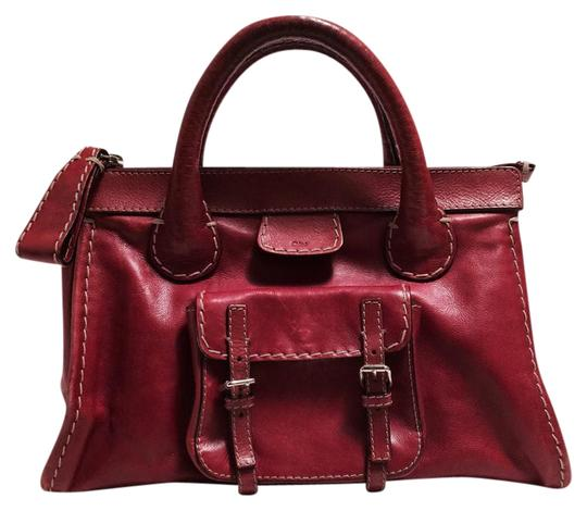 Preload https://item4.tradesy.com/images/chloe-edith-russet-leather-satchel-21295538-0-1.jpg?width=440&height=440