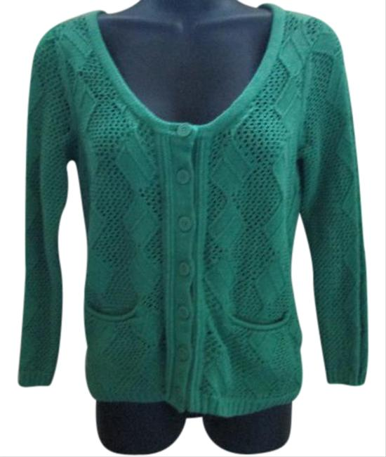 Preload https://item5.tradesy.com/images/anthropologie-green-sparrow-cardigan-size-6-s-21295544-0-1.jpg?width=400&height=650
