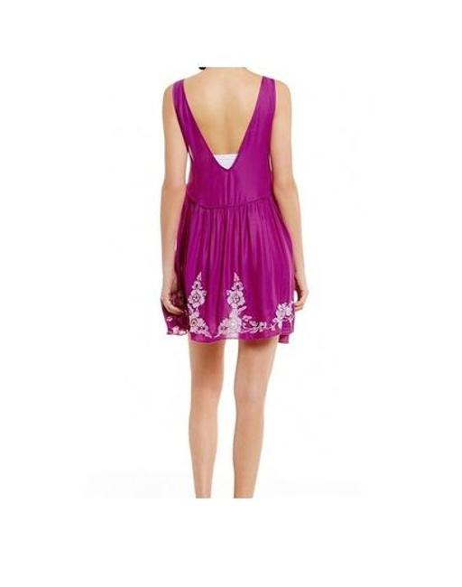 Free People Summer Vintage Evening Sleeveless Party Dress