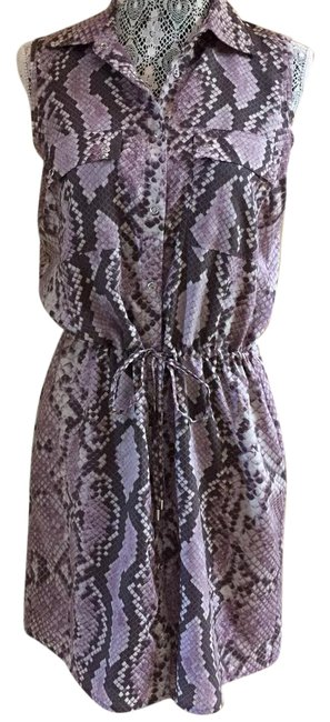Preload https://item2.tradesy.com/images/michael-kors-multi-color-snake-print-mid-length-short-casual-dress-size-8-m-21295581-0-1.jpg?width=400&height=650