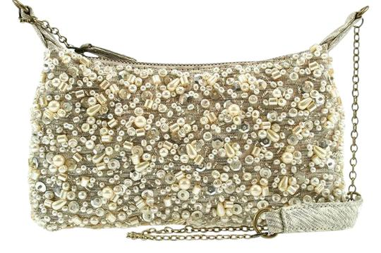 Preload https://item5.tradesy.com/images/mary-frances-joy-mini-handbag-ivory-hand-stitched-beading-and-pearls-on-textured-fabric-with-flicks--21295669-0-1.jpg?width=440&height=440