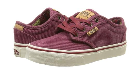 Preload https://item2.tradesy.com/images/vans-redmarshmallow-atwood-deluxe-boys-low-top-sneakers-washed-twillredmarshma-sneakers-size-us-85-21295716-0-0.jpg?width=440&height=440