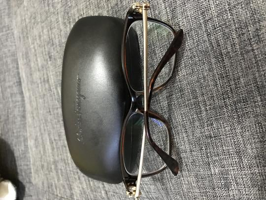 Salvatore Ferragamo Salvatore Ferragamo brown prescription glasses