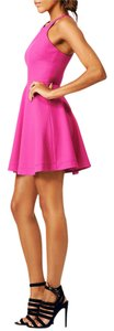 Elizabeth and James short dress pink Summer Cocktail Night Out Wedding Flirty on Tradesy