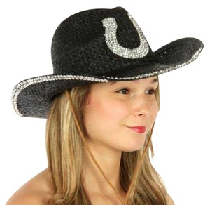 cowboy hat Western cowboy hat with horse shoe embellishment