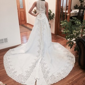 Private Label By G Embroidered Long Back Gorgeous Wedding Gown Wedding Dress