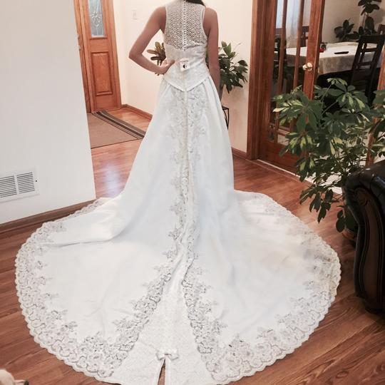 Preload https://item1.tradesy.com/images/private-label-by-g-ivory-embroidered-long-back-gown-feminine-wedding-dress-size-10-m-21295885-0-0.jpg?width=440&height=440