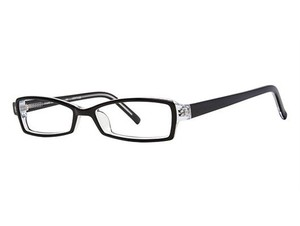 Ogi Ogi Eyeglasses 7107 106 Black/Crystal