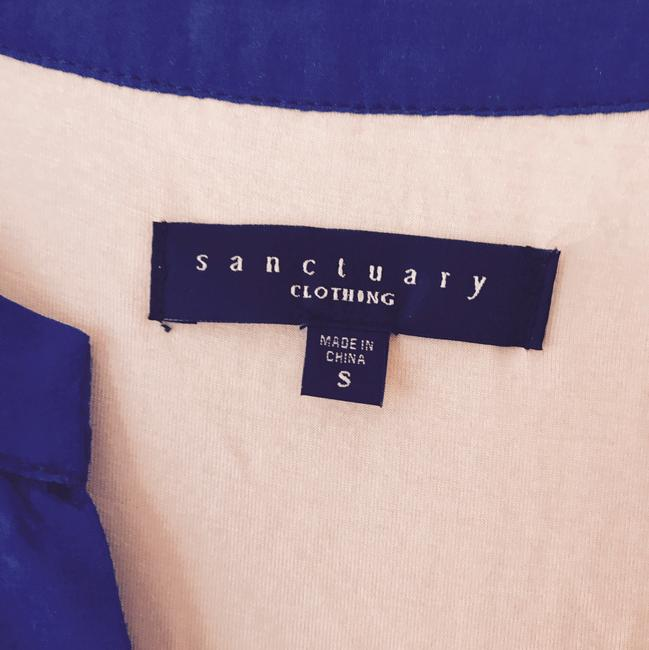 Sanctuary short dress blue on Tradesy