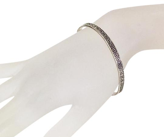 Preload https://item5.tradesy.com/images/silver-sterling-greek-key-design-vintage-heavy-925-handmade-bangle-bracelet-21296074-0-1.jpg?width=440&height=440