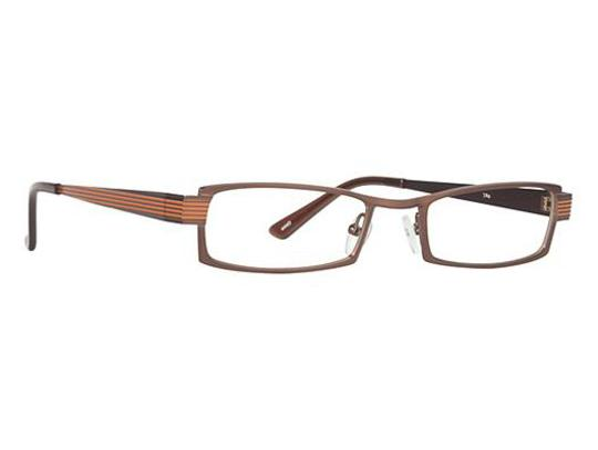 Ogi Ogi Eyeglasses 9050 738 Dark Brown/BurntOrange