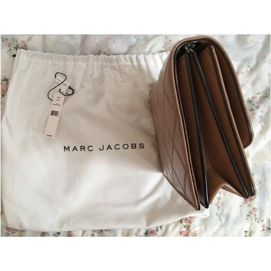 Marc Jacobs Beige Caviar Troublebag Shoulder Bag