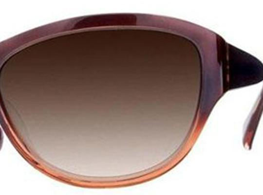 Oliver Peoples Oliver Peoples Sunglasses Cavanna Garnet Spice Brown Gradient Lens