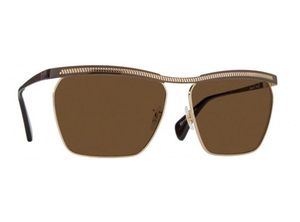 a317cbd566 Paul Smith Paul Smith Sunglasses PM4053S - Foxley 509873 Cocoa Gold With  Brown Image 3. 1234