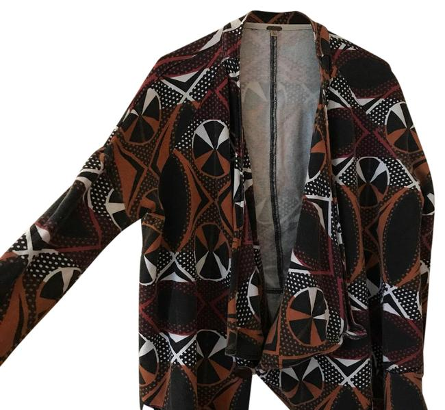 Preload https://item5.tradesy.com/images/free-people-mixed-aztec-print-draped-cotton-vintage-wash-lightweight-jacket-size-2-xs-21296264-0-1.jpg?width=400&height=650