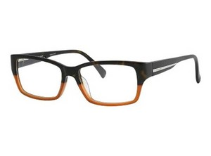 Police Police Eyeglasses V1735M 6NP Dark Havana Honey