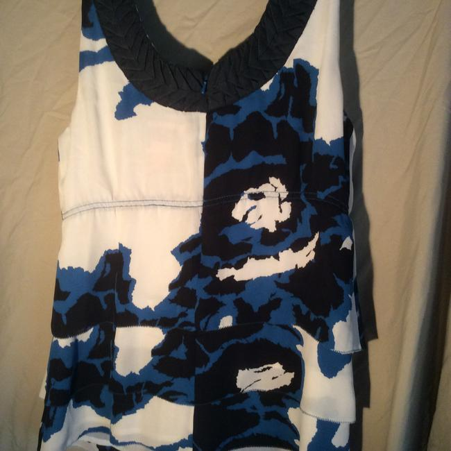 Tory Burch Top Blue and white