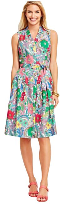 Preload https://item5.tradesy.com/images/talbots-floral-paisley-mid-length-short-casual-dress-size-petite-12-l-21296664-0-1.jpg?width=400&height=650