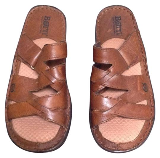 Preload https://item1.tradesy.com/images/born-brown-sandals-size-us-6-regular-m-b-21296695-0-1.jpg?width=440&height=440