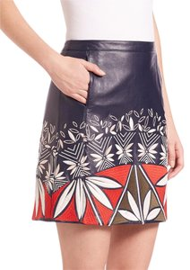 Tory Burch Mini Skirt Navy Blue