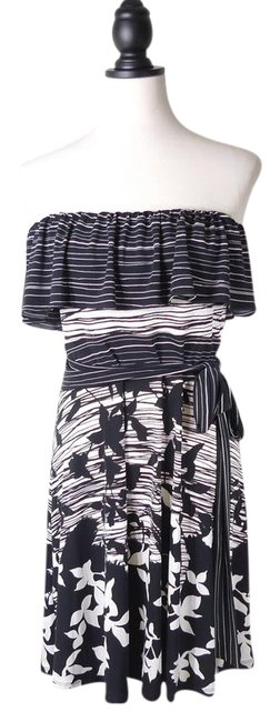 Preload https://img-static.tradesy.com/item/21296807/bcbgmaxazria-black-bcbg-max-azria-maxazria-strapless-misha-printed-short-cocktail-dress-size-12-l-0-1-650-650.jpg